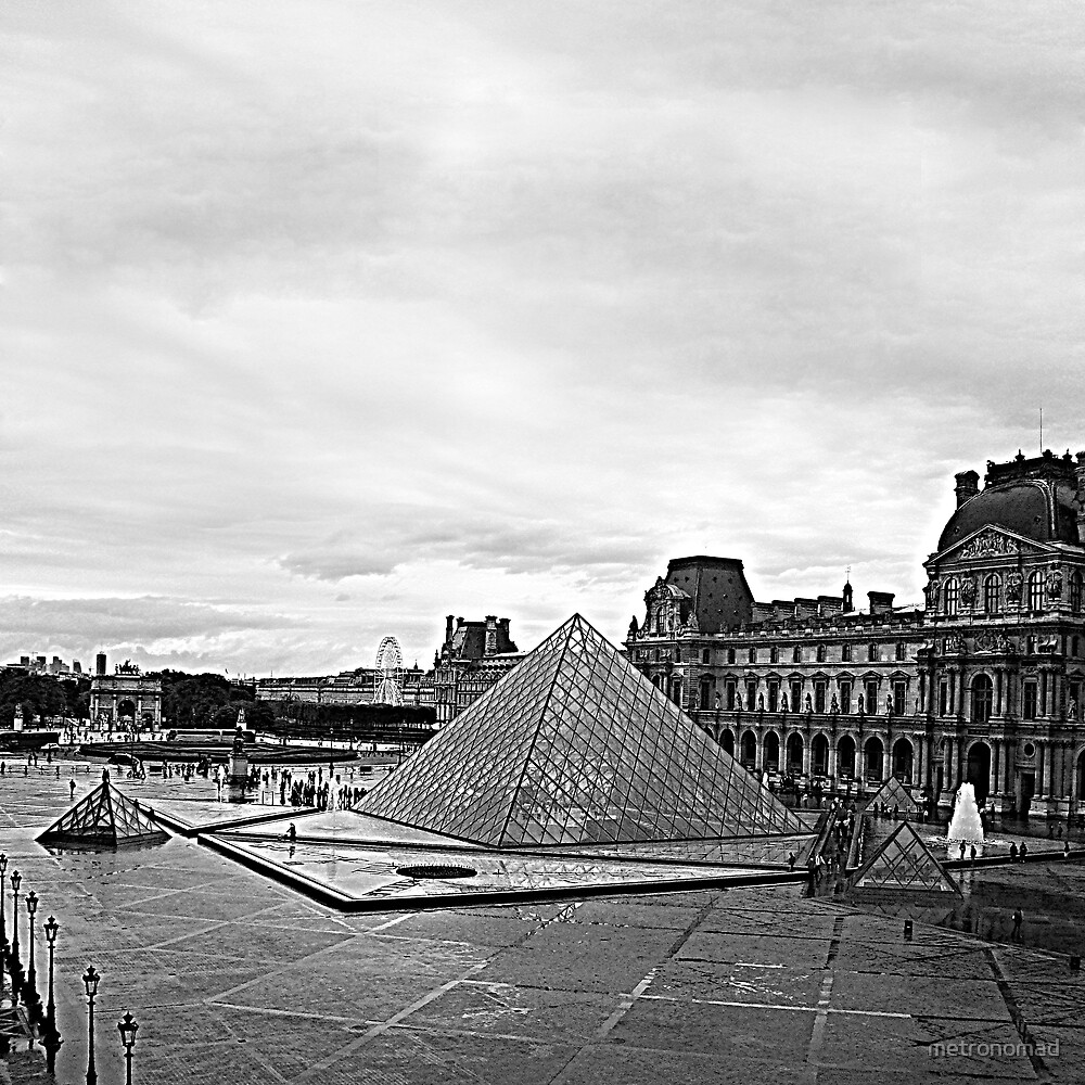 Louvre by metronomad