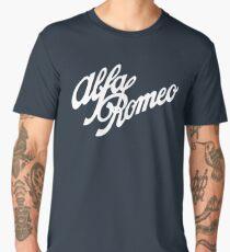 Alfa Romeo classic (white) Men's Premium T-Shirt