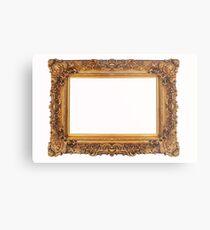 Baroque Golden Frame Metal Print