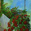 White Pickett Fence by Ciska