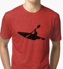 Kayaking Passion Tri-blend T-Shirt