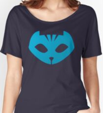 Pj masks Catboy symbol Women's Relaxed Fit T-Shirt