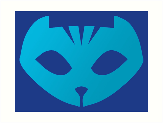 Quot Pj Masks Catboy Symbol Quot Art Prints By Ideasfinder Redbubble