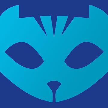 Pj masks Catboy symbol by ideasfinder