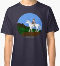 Unicorn Warrior Classic T-Shirt