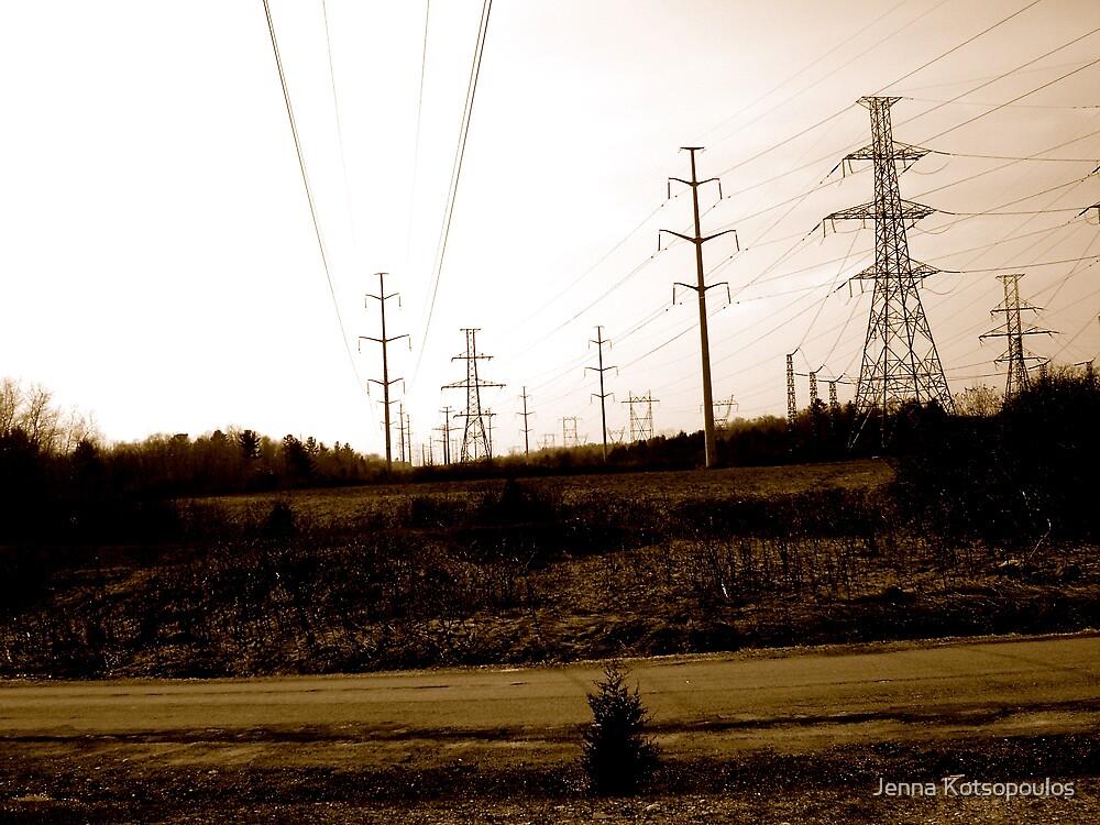 Electric madness  by Jenna Kotsopoulos