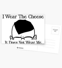I Wear The Cheese Postcards