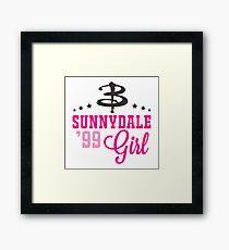 Sunnydale Girl Framed Print