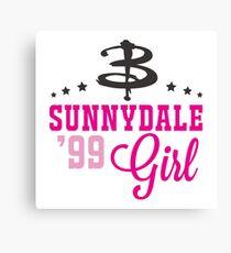 Sunnydale Girl Canvas Print
