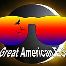 The Great American Eclipse by EyeMagined