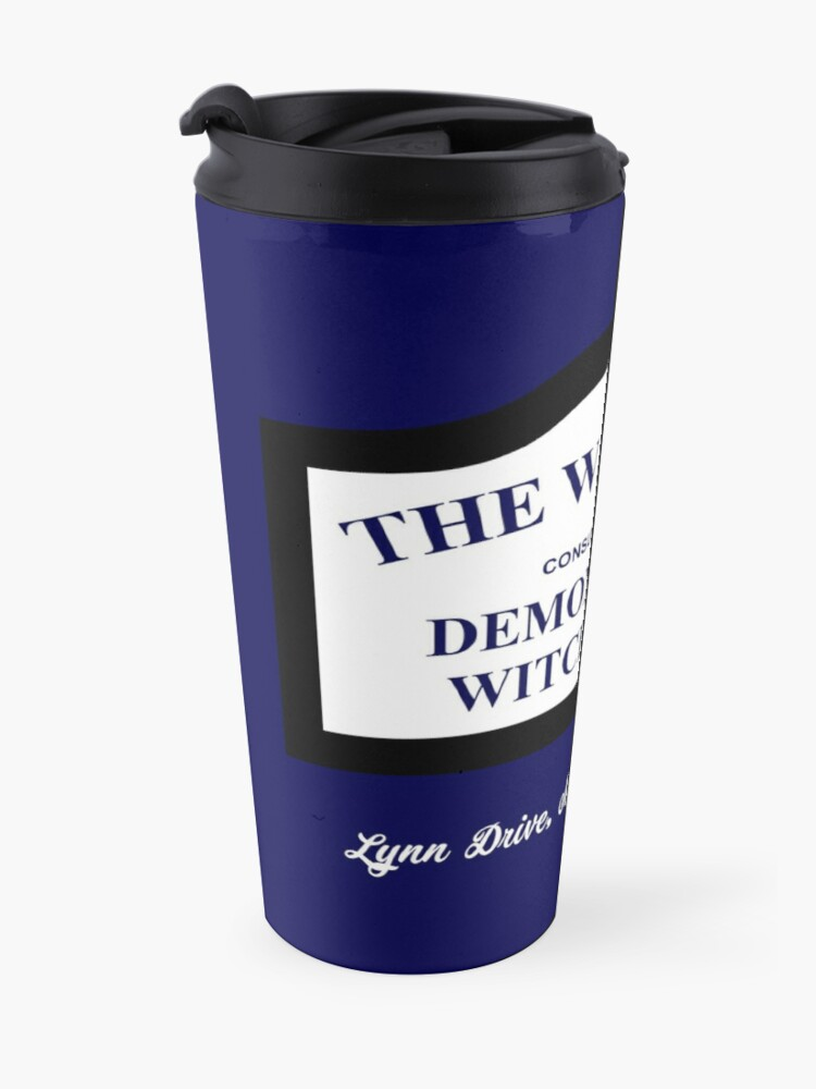 Alternate view of The Conjuring - The Warrens Sign Travel Mug