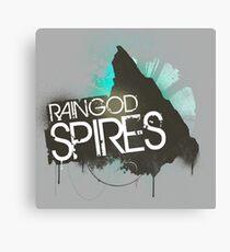 Rain God Spires Canvas Print