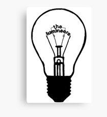 Lightbulb Logo Canvas Print