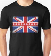 Vintage Flag > UK Flag Made of Hockey Balls + Sticks > Fieldhockey T-Shirt