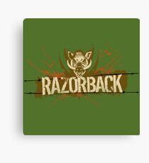 Razorback Canvas Print