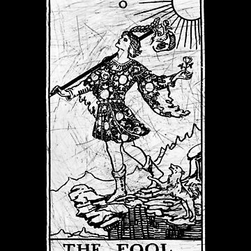 The Fool Tarot Card - Major Arcana - adivinación - ocultismo de createdezign