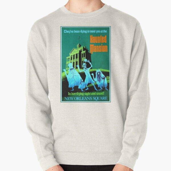 NEW ORLEANS : Vintage Haunted Mansion Advertising Print Pullover Sweatshirt