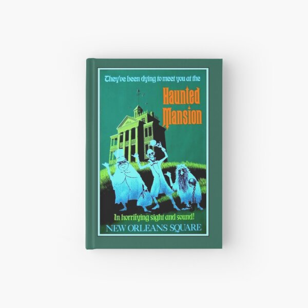 NEW ORLEANS : Vintage Haunted Mansion Advertising Print Hardcover Journal