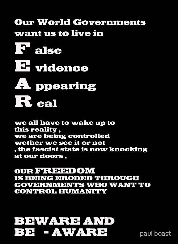 F.E.A.R. by paul boast