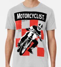 Classic Motorcycle Magazine Cover Premium T-Shirt