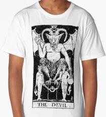 The Devil Tarot Card - Major Arcana - fortune telling - occult Long T-Shirt