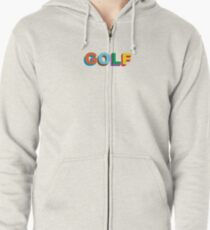 GOLF LOGO COLORED TYLER THE CREATOR Zipped Hoodie