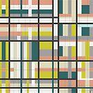 Retro Stripes  von joannazoelzer