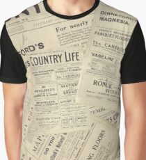Country Life Vintage Covers Graphic T-Shirt