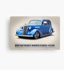 1937 Chevrolet Two-Door Sedan II Metal Print