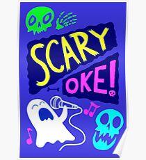 Gravity Falls Scary-Oke Poster Poster