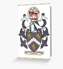 Cooper Coat of Arms Greeting Card
