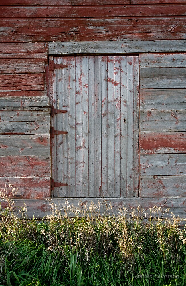 Weathered by Glennis  Siverson