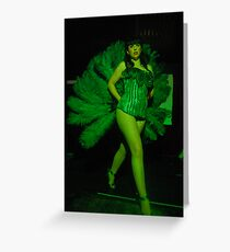 Sarah Lea Cheesecake is the Green Fairy! Greeting Card