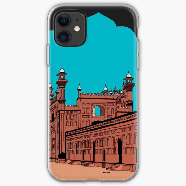 Badshahi Mosque, Lahore - Pakistan iPhone Soft Case