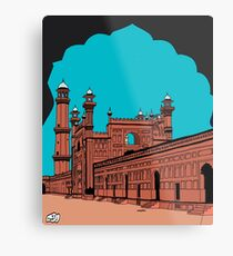 Badshahi Mosque, Lahore - Pakistan Metal Print