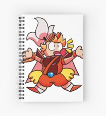 Onion Knight Spiral Notebook