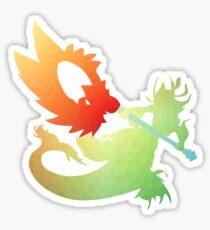 League of Legends Nami Gradient Sticker