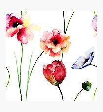 Beautiful spring flowers Photographic Print