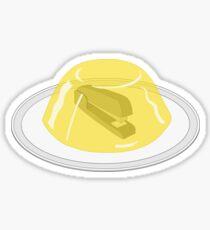 Stapler in jello The Office Sticker