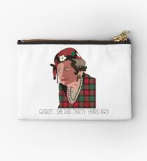 Aunt Bethany Zipper Pouch