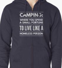 Camping Zipped Hoodie