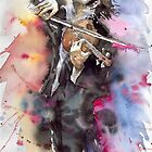 Muzician Violine player 01 by Yuriy Shevchuk