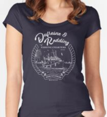 Dufresne and Redding Hope Fishing Charters Variant Women's Fitted Scoop T-Shirt
