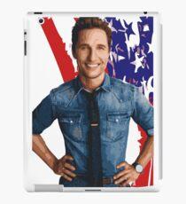 All-American Matthew McConaughey iPad Case/Skin