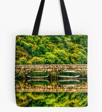 bridge to reflection Tote Bag