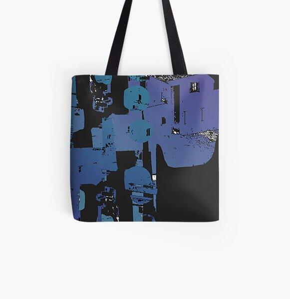 Secret town Allover-Print Tote Bag