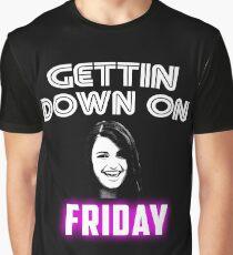 Rebecca Black Friday Parody Graphic T-Shirt