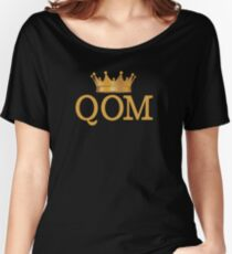 QOM – Queen of the mountain Women's Relaxed Fit T-Shirt
