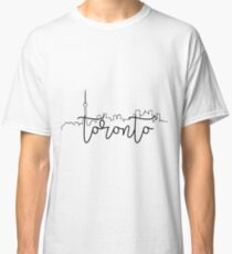 cityscape outline - toronto Classic T-Shirt