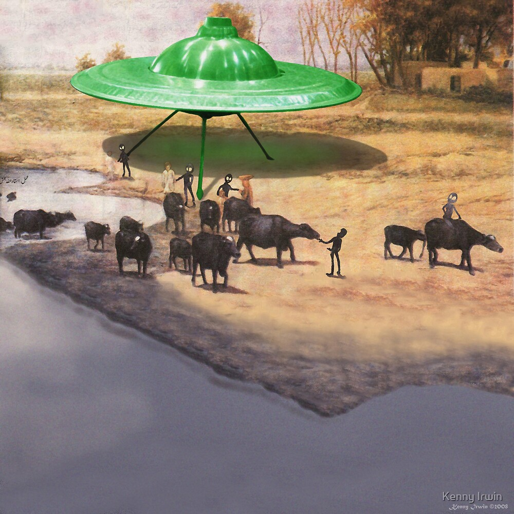 The 14,338 BC Mehrgarh UFO Landing by Kenny Irwin